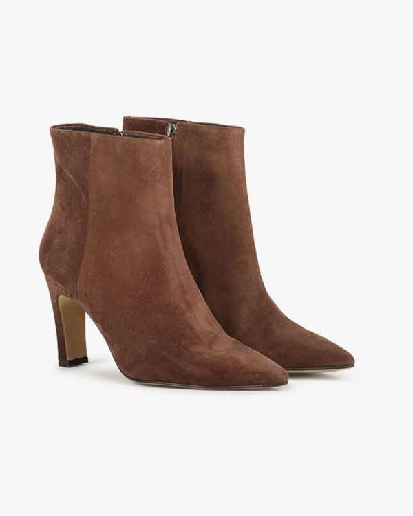 Elin ankle boot - Chocolate brown